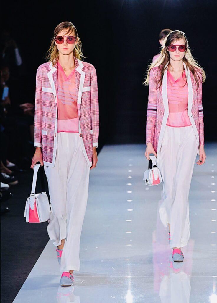 Armani - Londra Fashion Week