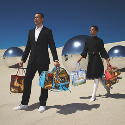 Louis Vuitton lancia la nuova capsule collection by Jeff Koons