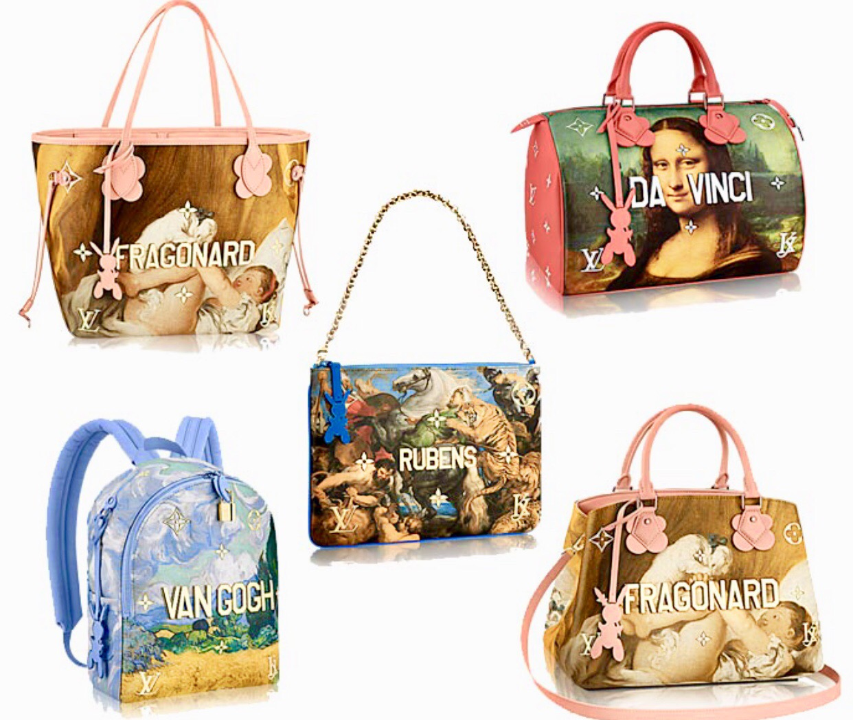 Louis Vuitton: capsule collection by Jeff Koons