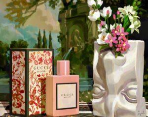 """La campagna Gucci, guidata dall'estro e dalla creatività di AlessandroMichele, annuncia la nuova campagna primavera/estate 2018 in collaborazione con l'artista spagnolo IgnasiMonreal con """"Utopian Fantasy""""."""