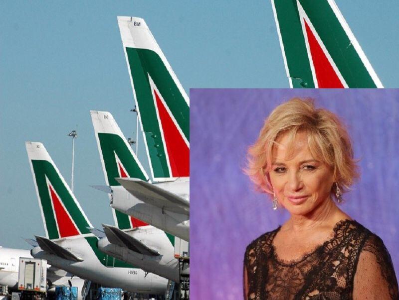 Alberta Ferretti designer per Alitalia