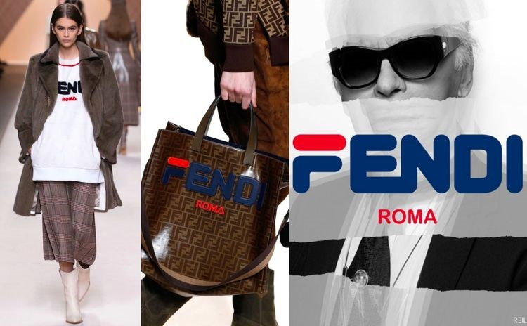 Fendi Mania: il progetto Fendi & FILA - The Fashion Colors