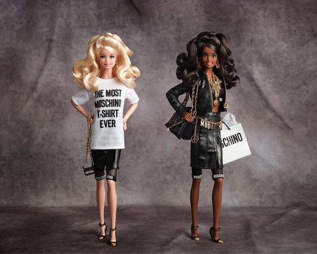 Barbie griffata Moschino
