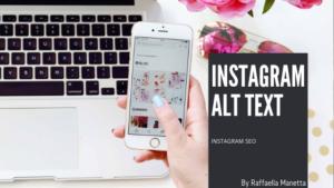 Instagram ALT TEXT