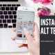 Instagram ALT TEXT