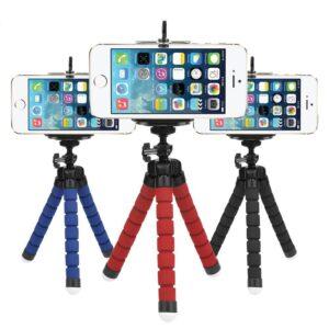 Tre piedi con smartphone