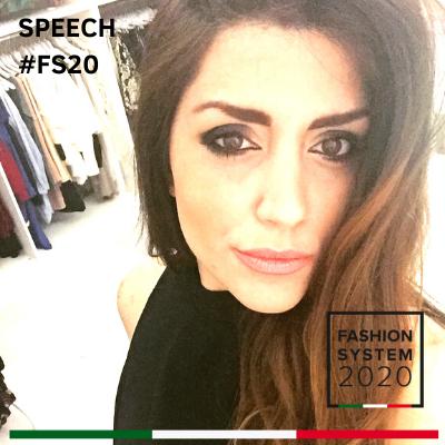 Speech Fashion system 2020