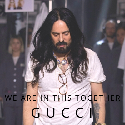Gucci We are all in together