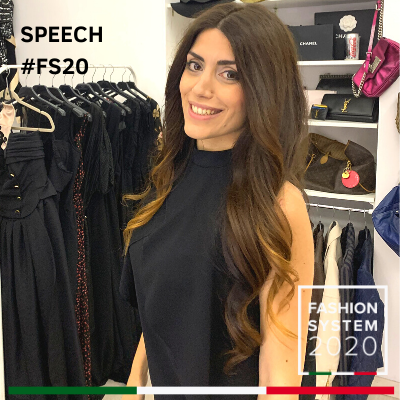 Speech Fashion System 2020 - Raffaella Manetta