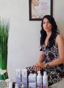 Erika Guerra - rituale di bellezza con Beauty Life Cosmetici