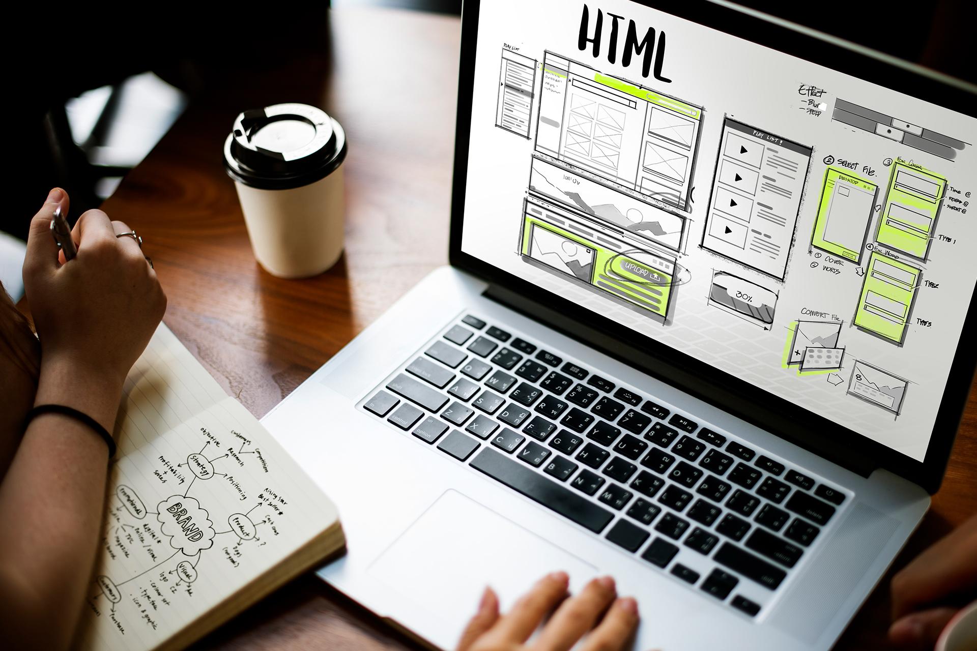 The Fashion Color agency web design