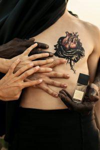 BLACK ROSE Extrait De Parfum Claudia Scattolini